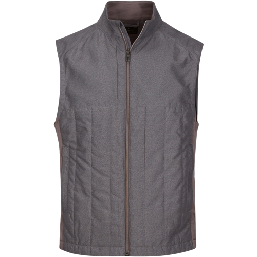 Greg Norman Crescent Quilted Full Zip Vest<BR><B><font color = red>SALE!</b></font>