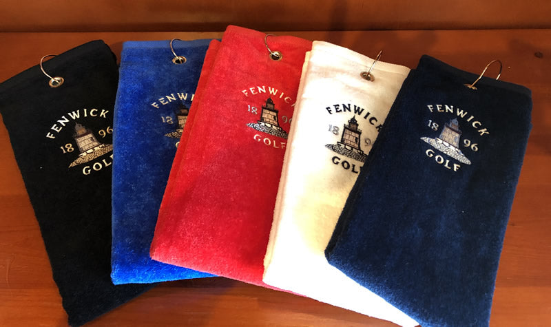 Fenwick Logo'd Golf Towel