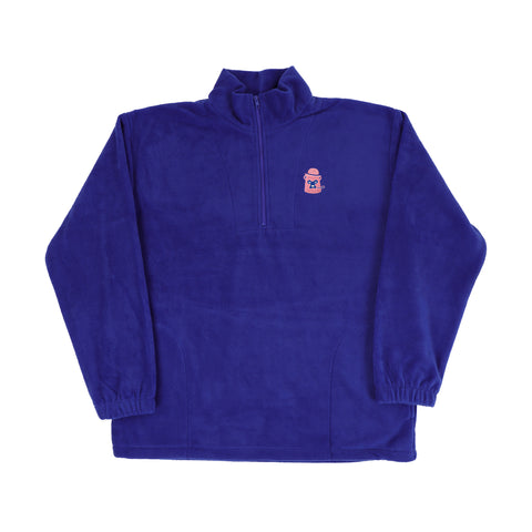 Polar Fleece - Blue/Pink/White