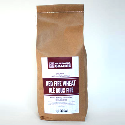 Organic Red Fife Whole Wheat Flour