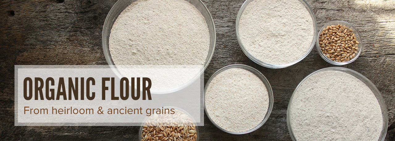 Maplewood Grange - organic flour from heirloom and ancient grains