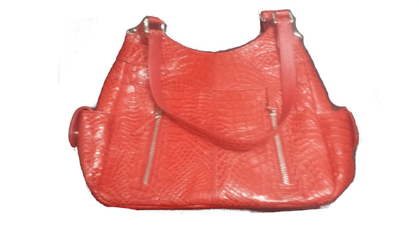 Nina Raye Pocketbook in Red