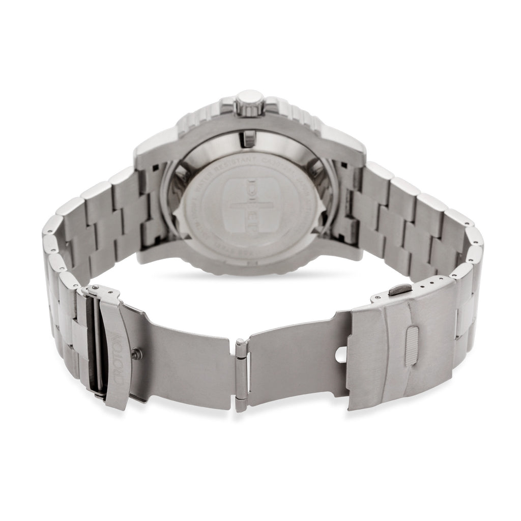 "Croton Men's ""Deep C"" Sport Watch with Date & Rotating Bezel"