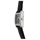 Ladies Swiss Quartz Diamond Case Watch with Black Mother of Pearl Dial