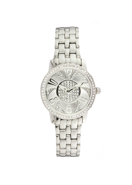 Ladies Swiss Stainless Steel 3/4 Carat Diamond Watch