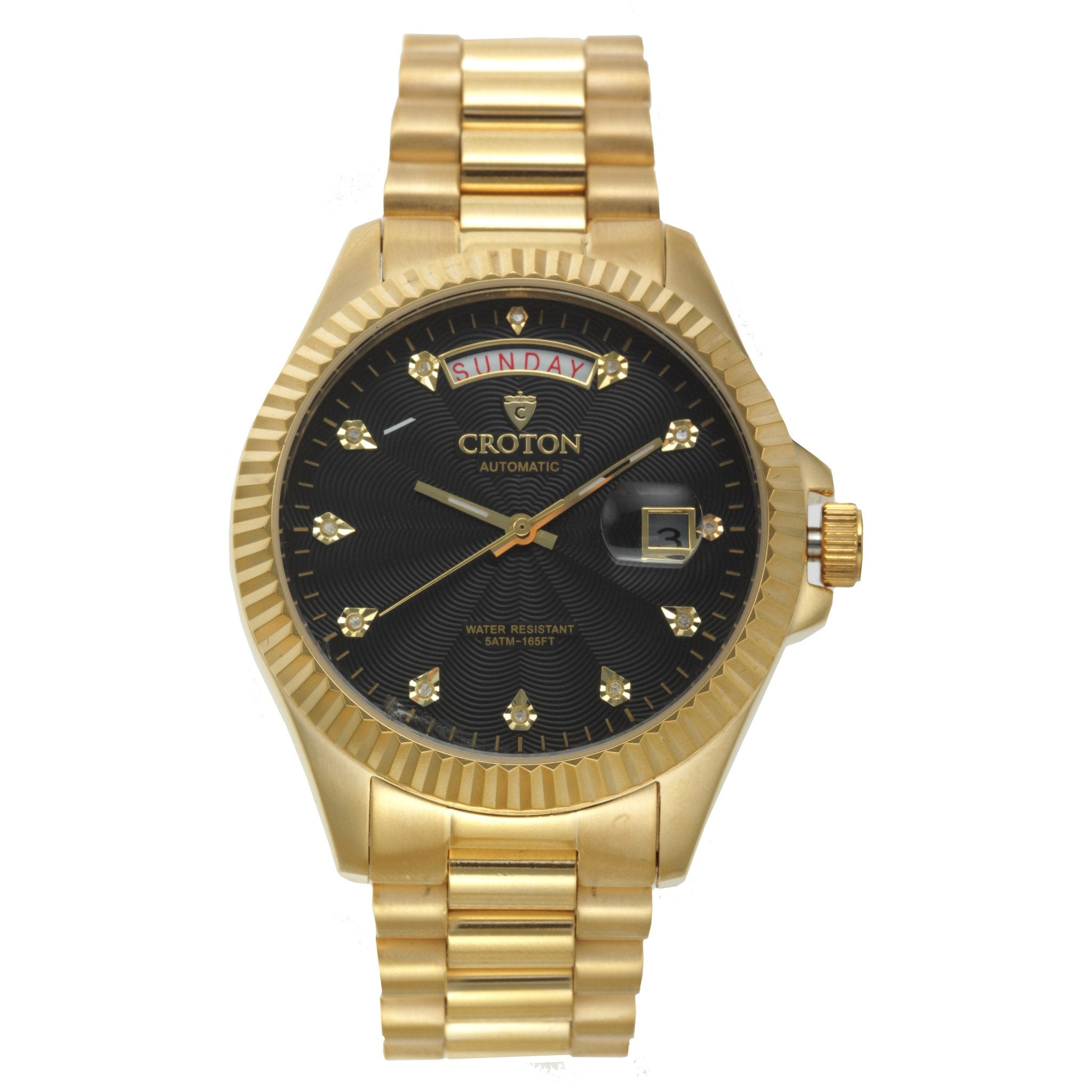 datejust black jubilee yellow this steel watches gold rolex stainless buy new and diamond