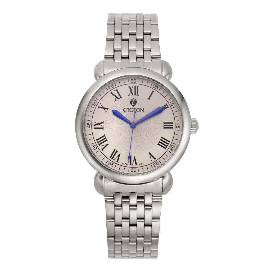 "Croton Men's ""Heritage"" Stainless Watch"