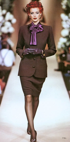 Yves Saint Laurent-work chic