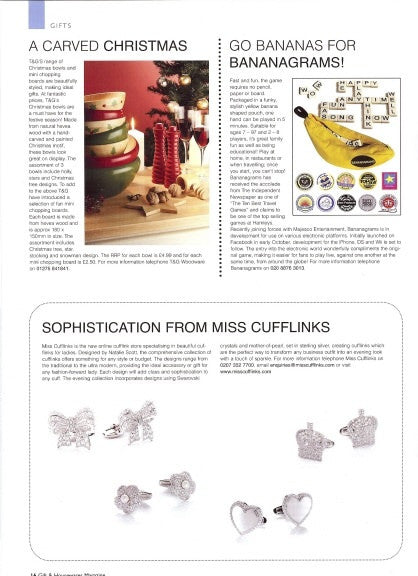 Gifts and Houseware Magazine, Autumn 2008
