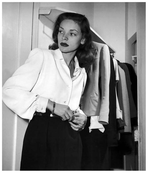 Lauren Bacall at the Gotham Hotel in NYC, Photo by Nina Leen