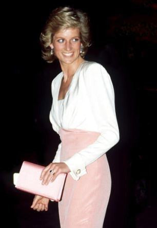 ‎1989: Diana dressed in Catherine Walker