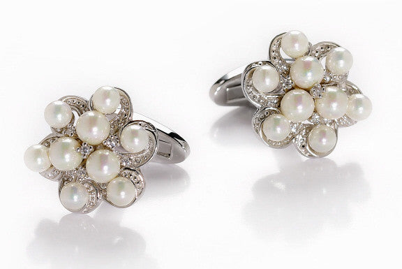 Pearls Can Adorn Your Cuffs, Too