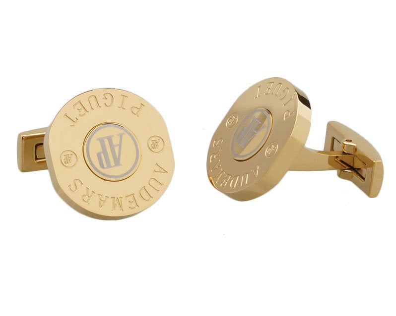 Audemars piguet inspired gold plated cufflinks