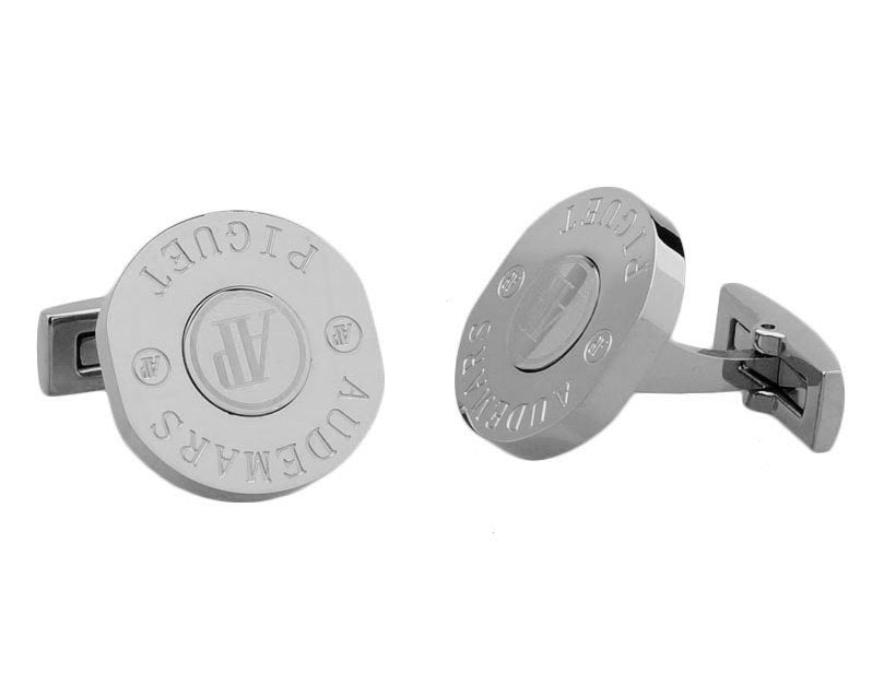 Audemars piguet inspired silver plated cufflinks