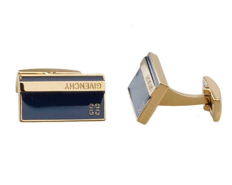 Givenchy inspired gold plated cufflinks