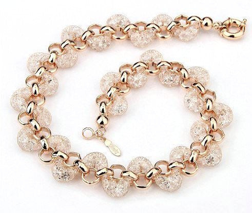 Rose Gold 18k plated Necklace
