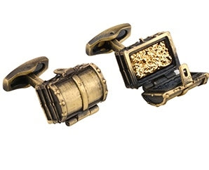RETRO TREASURE BOX CUFFLINKS