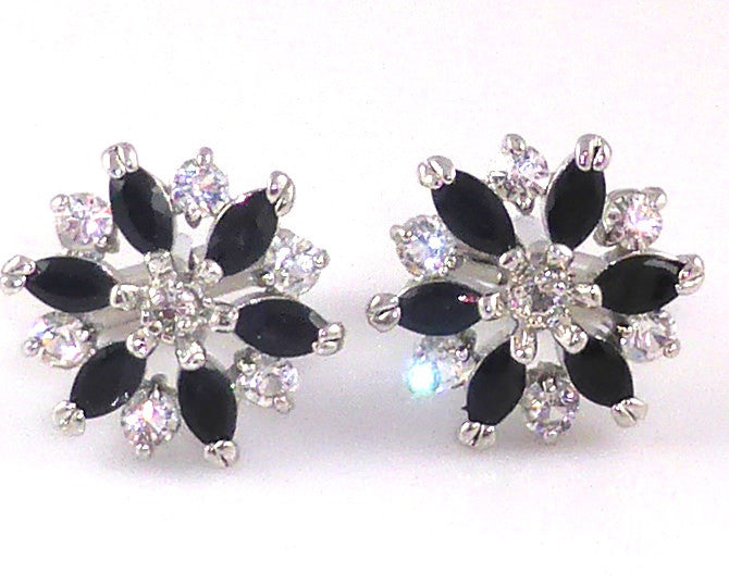Black Crystal Cufflinks