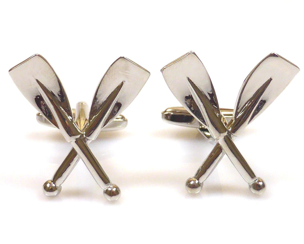 Rowing,  oars cufflinks
