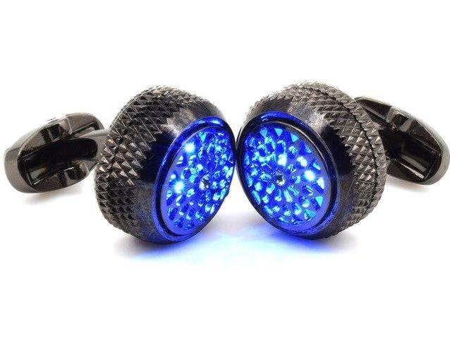 LED LIGHTING TUXEDO CUFFLINKS