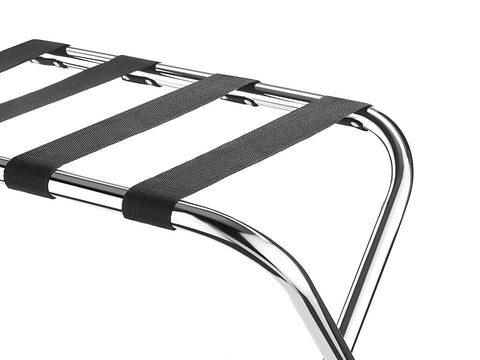 Luggage Rack standing folding hote guest room portable	 suitacase travel bag steel south africa