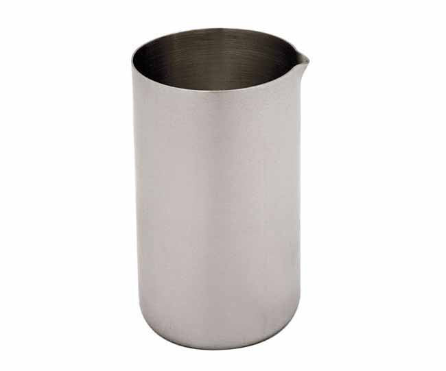 Matt stainless steel milk jug vivo