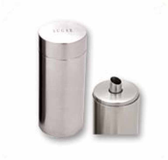 Matt stainless steel sugar dispenser