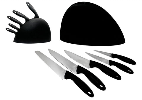 6 PIECE KNIFE SET WITH STAND