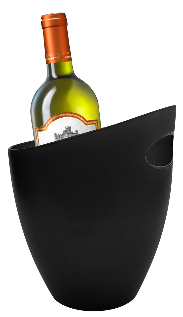 Black ice bucket / wine cooler
