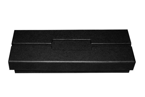 Black deluxe double pen box