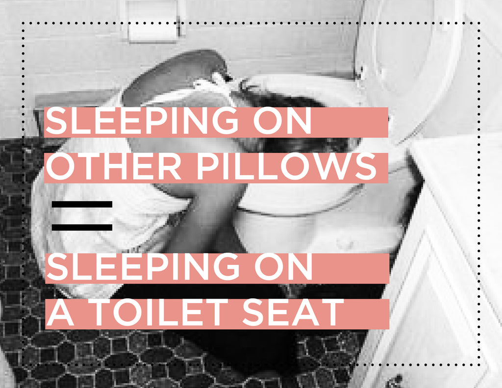 The Science behind your Pillow as a Toilet Seat