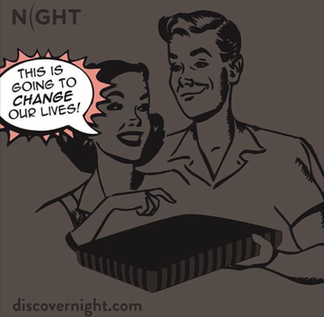 The NIGHT Pillow™ Ends the Gender Divide