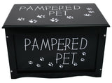 Pet toy storage box