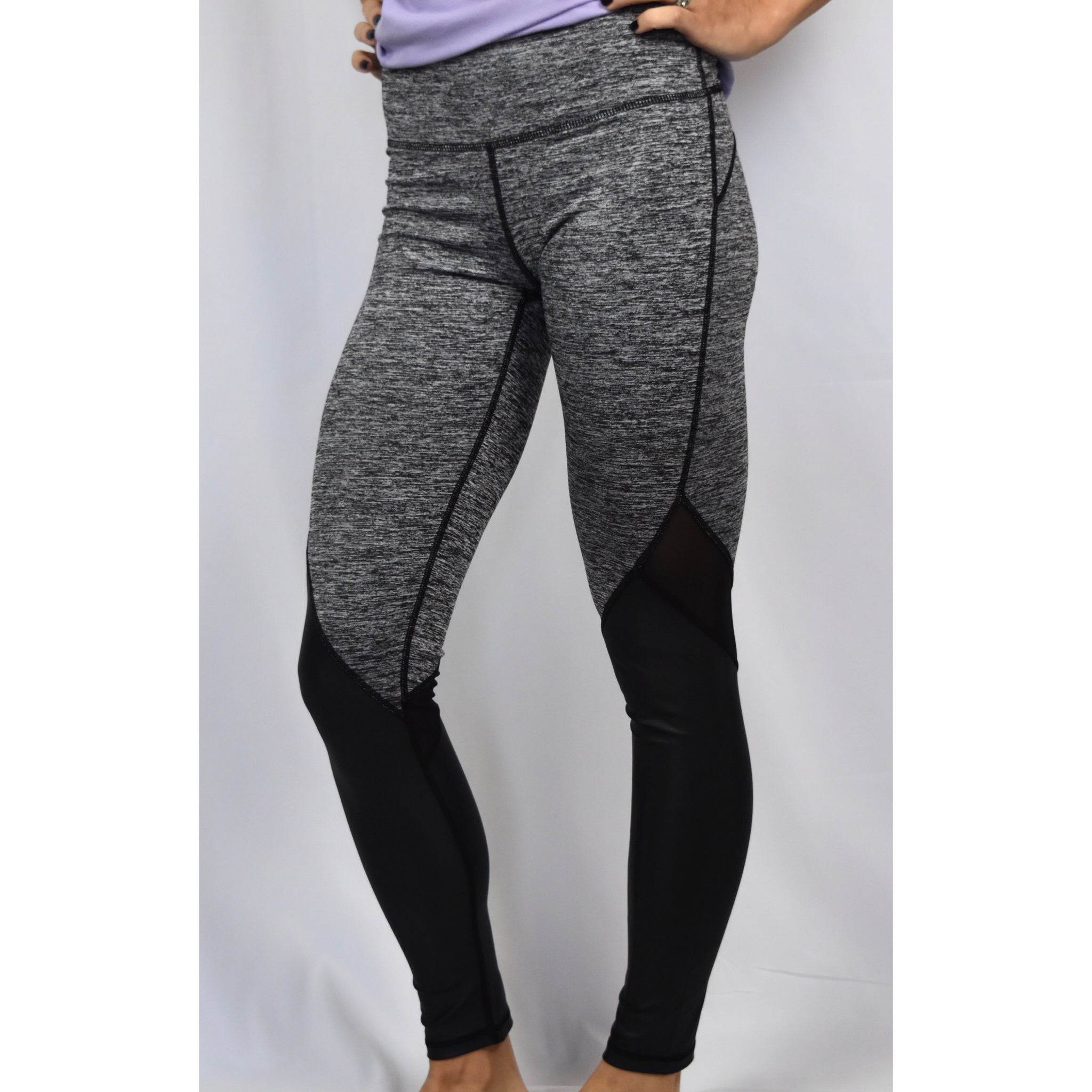 Heather Grey Leggings