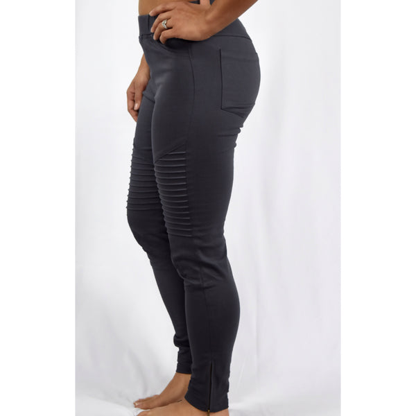 Charcoal Motto Leggings