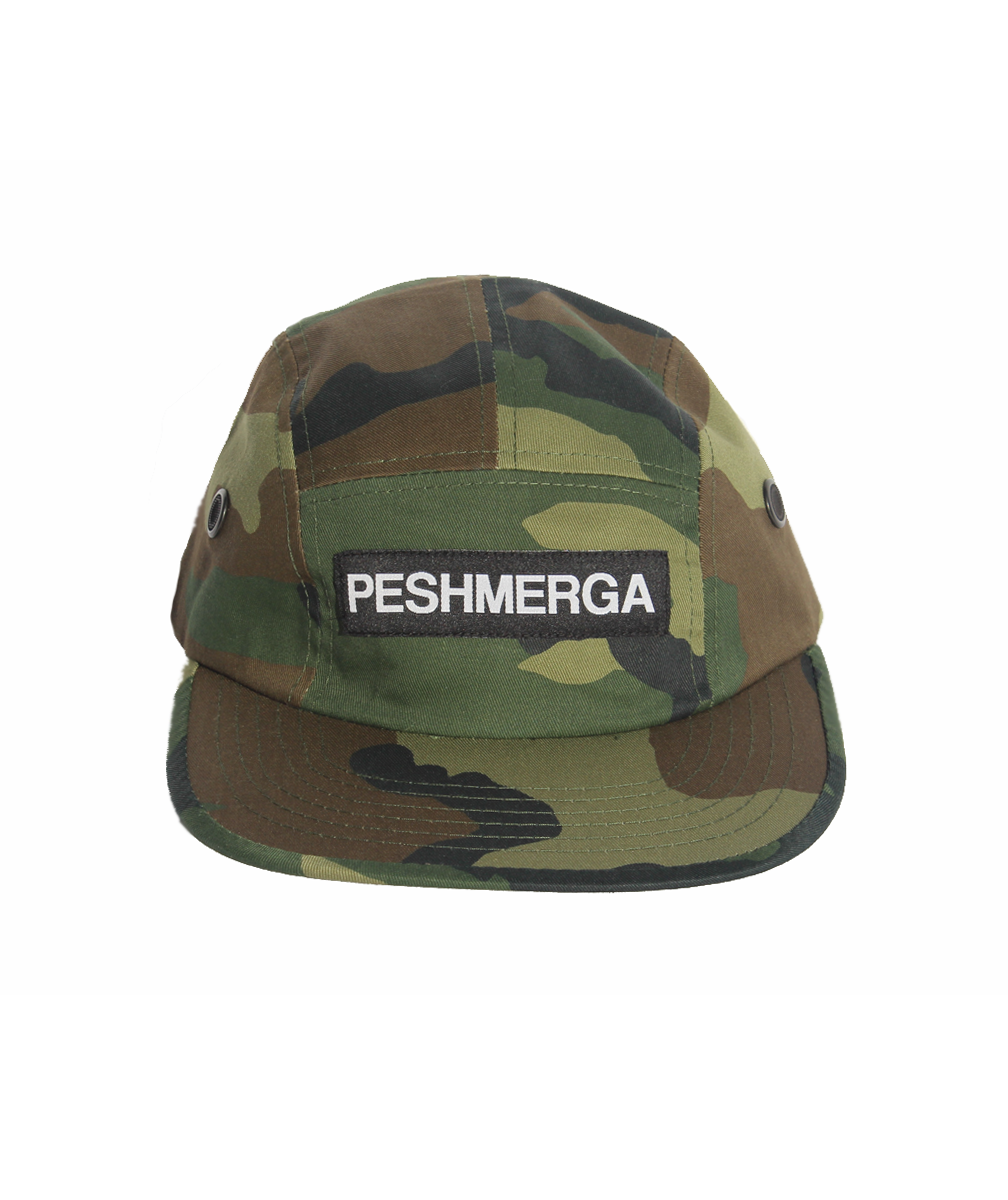 PESHMERGA 5 PANEL HAT (CAMO)