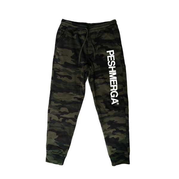 Peshmerga Fleece Pant (Forest Camo)