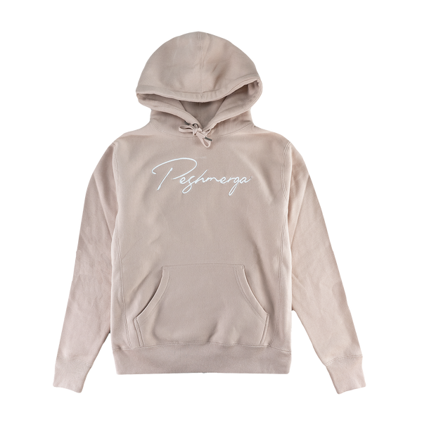 Peshmerga Premium Heavyweight Embroidered Hoodie (Dusty Pink)