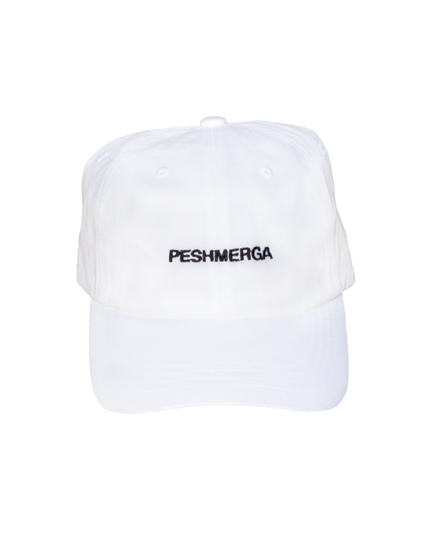 PESHMERGA DAD HAT (WHITE)