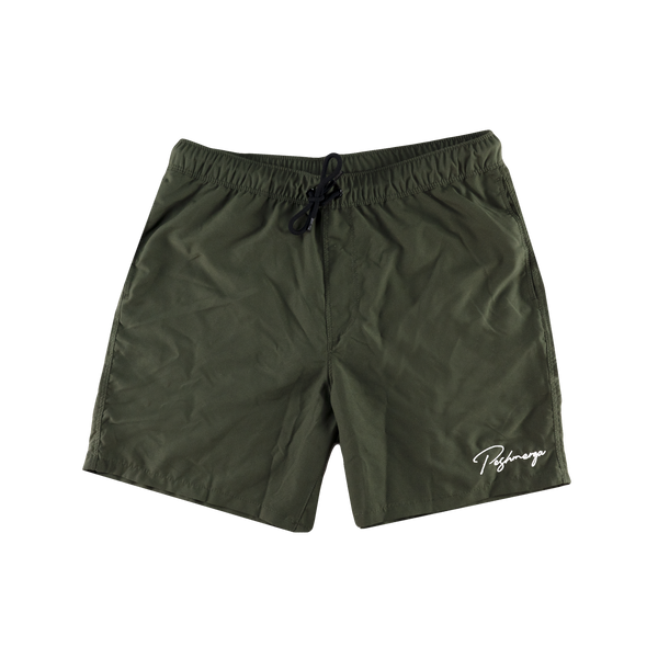 PESHMERGA SWIM TRUNKS (DARK GREEN)