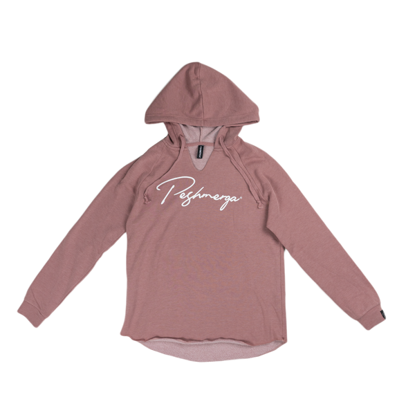 Peshmerga Womens Hoodie (Dusty Rose)
