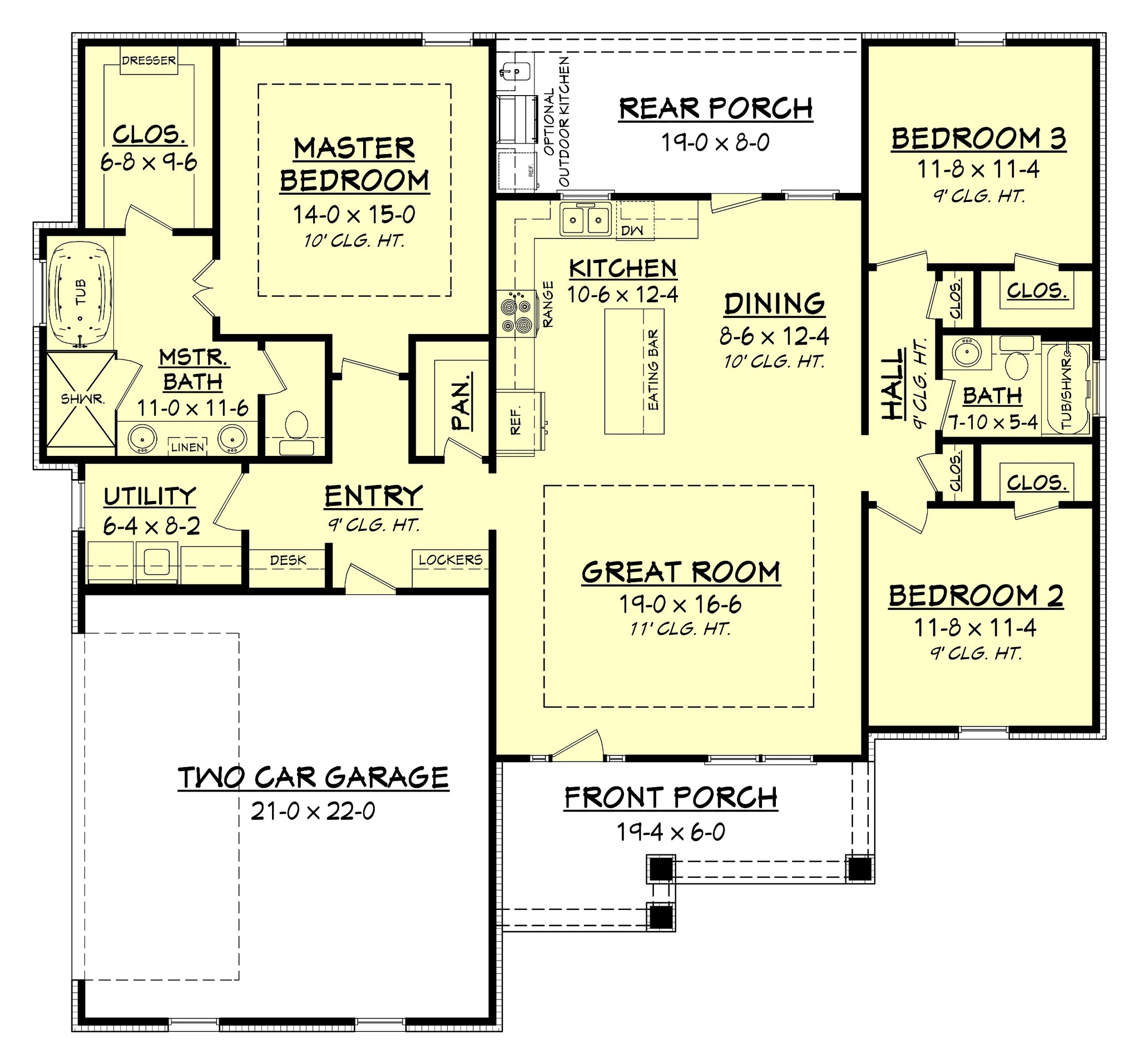 Sandalwood Craftsman House Plan