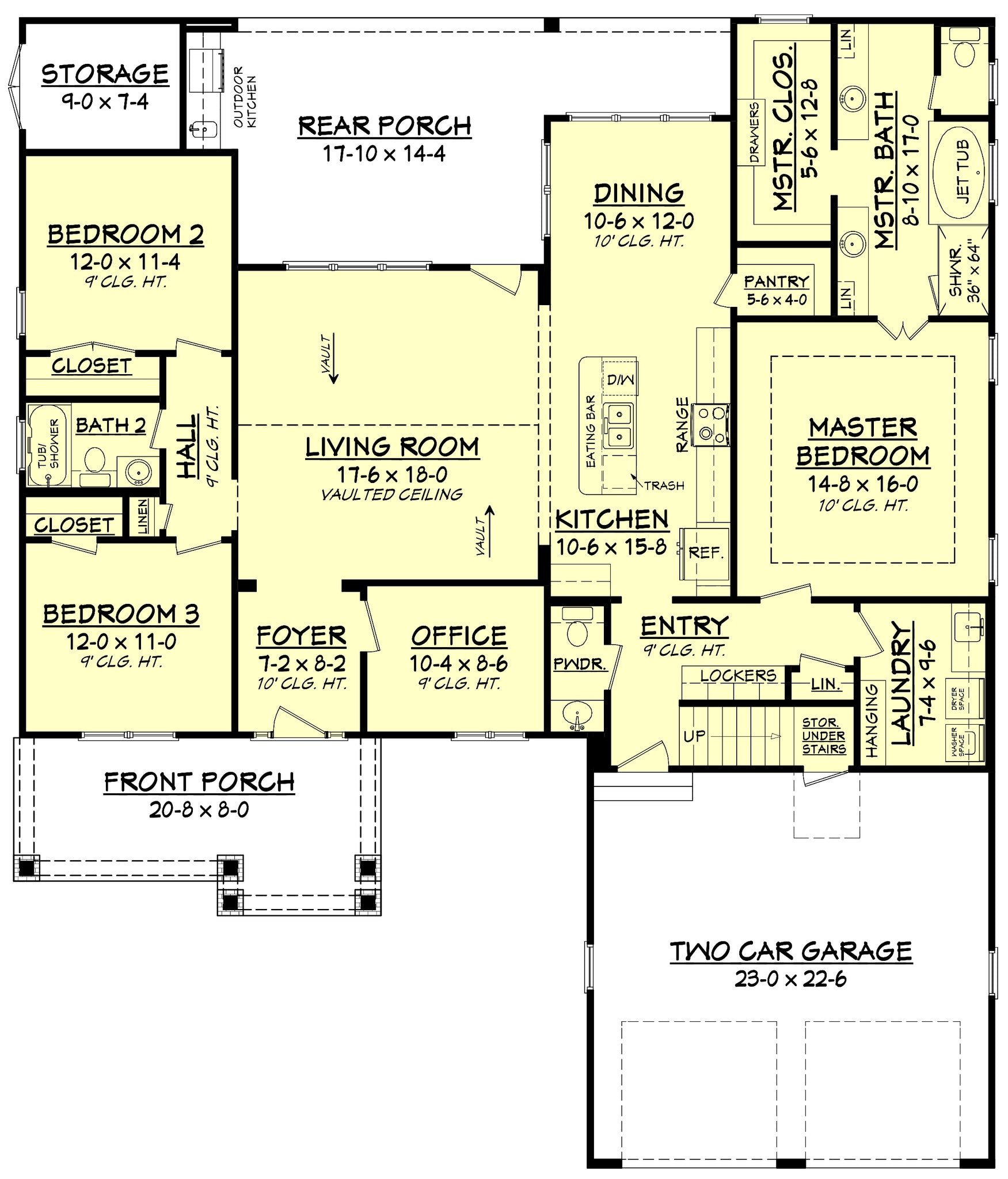 Cherry laurel house plan house plan zone The laurels floor plan