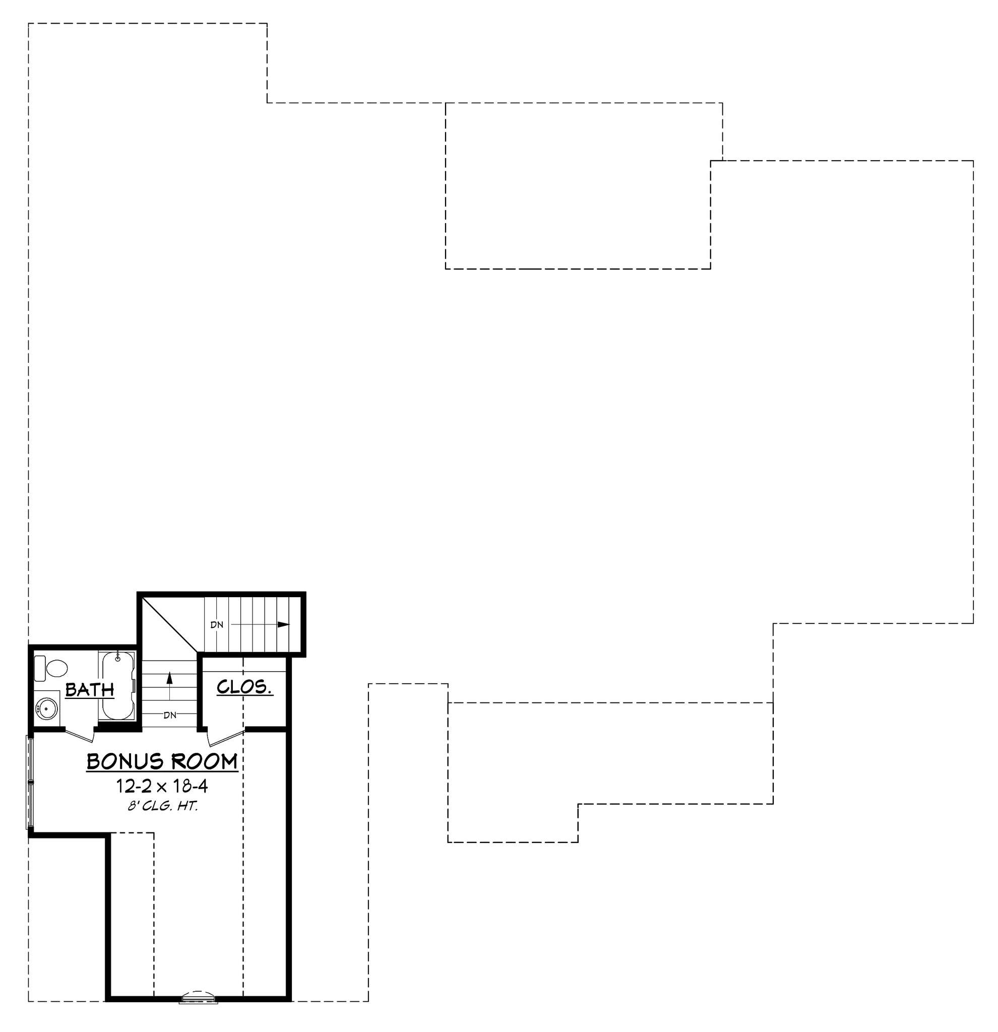 Clairmont Country House Plan