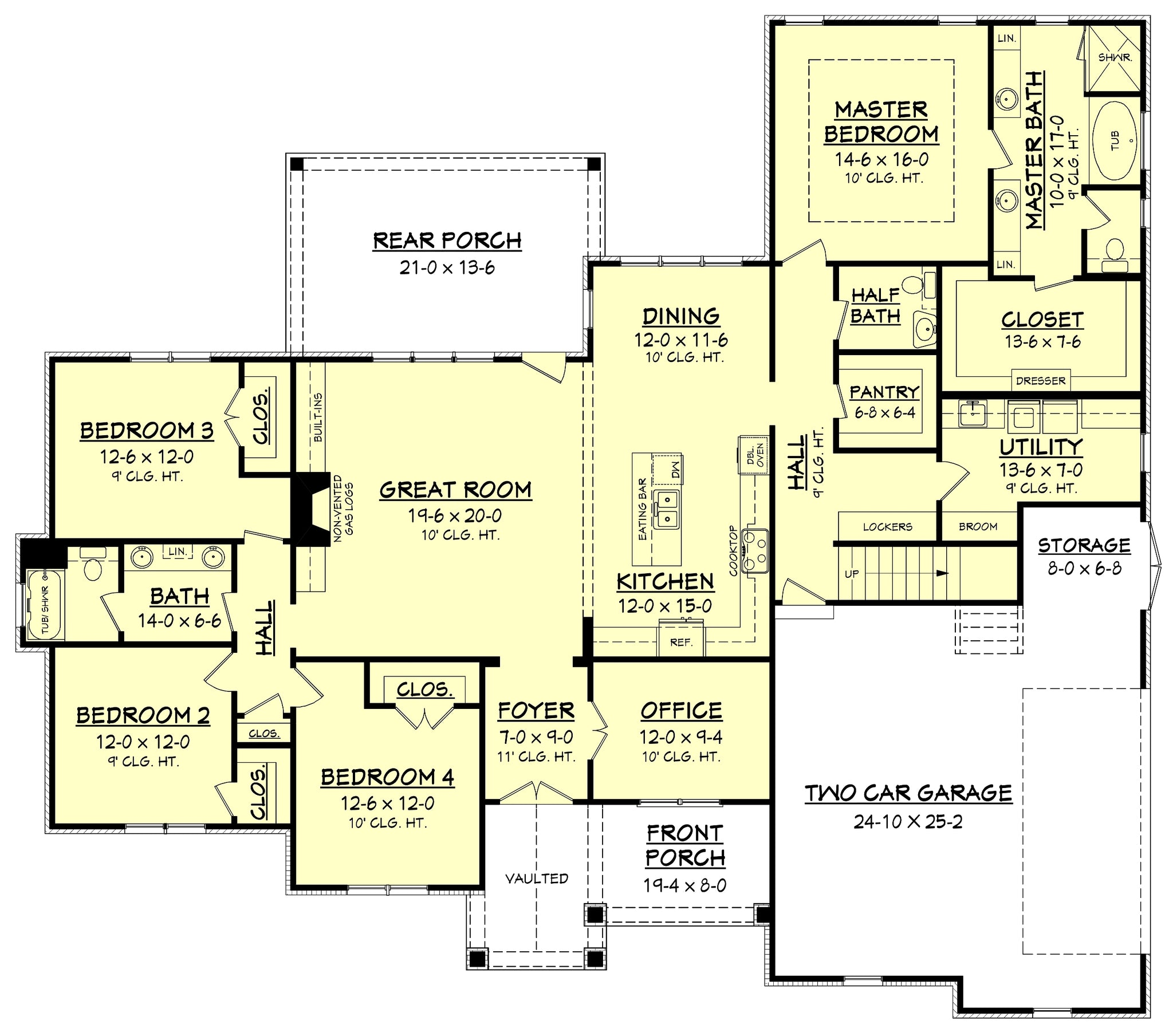 Coronado Main Floor Plan