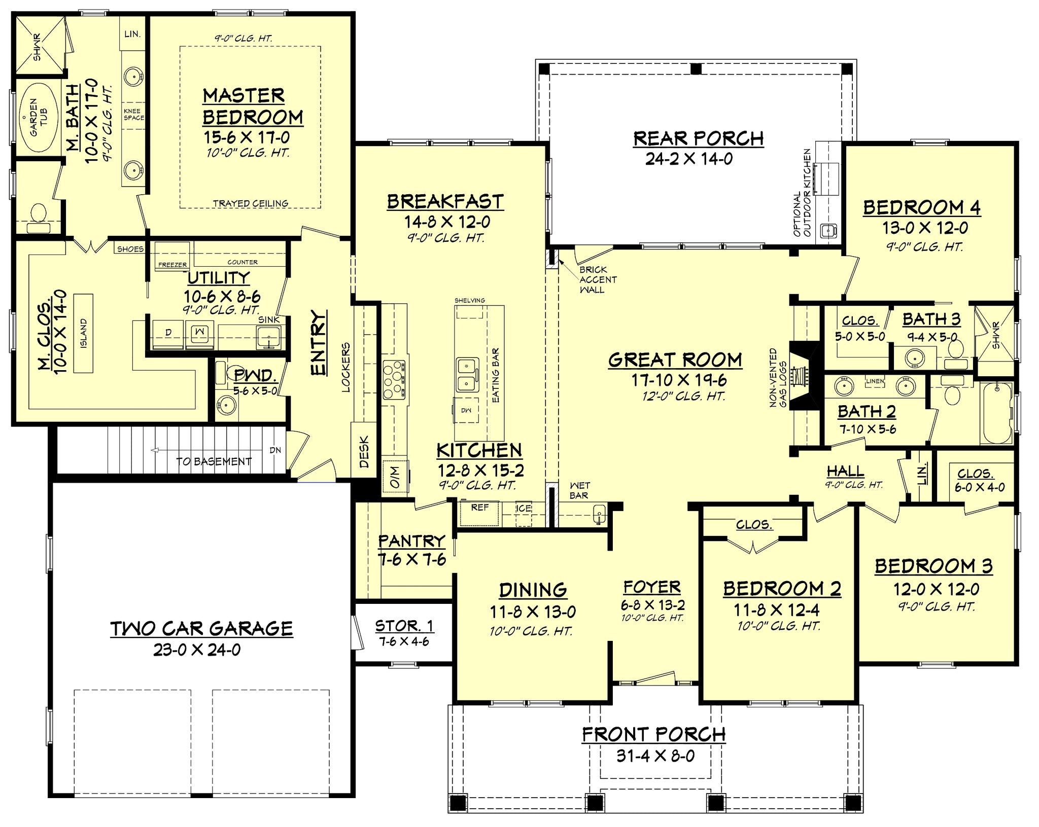 Frontier lane house plan house plan zone for Frontier plans