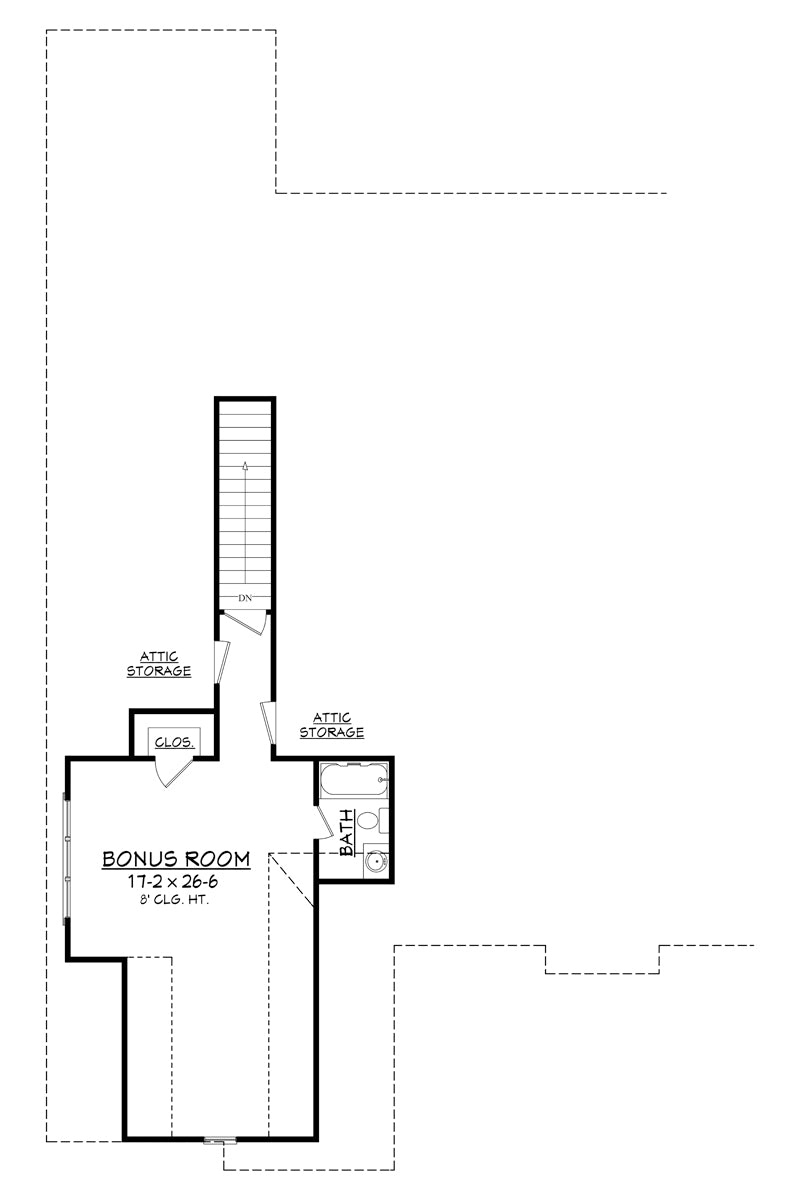 house plan bb 2597 from house plan zone