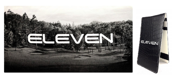Sub70 / Eleven Scorecard Holder and Free Towel Deal