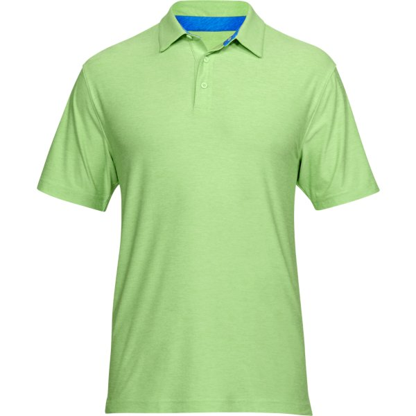 Under Armour Creditable Playoff Polo  Lime