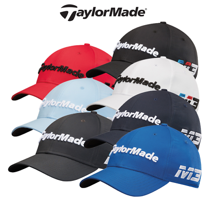 5c46a802122 TaylorMade 2018 New Era Hat Tour Authentic 39Thirty M3 M4 Mens Golf ...